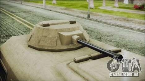 GTA 5 HVY Insurgent Van para GTA San Andreas vista direita