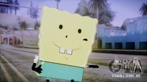 Spongeman para GTA San Andreas