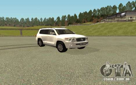 Toyota Land Cruiser 200 Bulkin Edition para GTA San Andreas