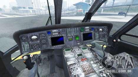 Sikorsky HH-60G Pave Hawk para GTA 5