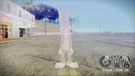 Bugs Bunny para GTA San Andreas segunda tela