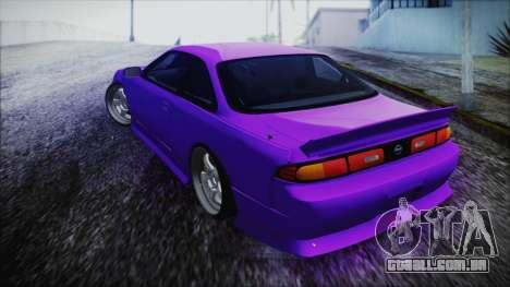 Nissan Silvia S14 Zenki BN Sports para GTA San Andreas esquerda vista