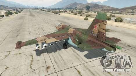 GTA 5 O Su-25 v1.1 terceiro screenshot