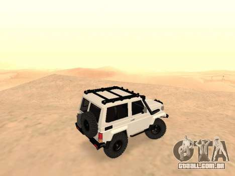 Toyota Machito Off-Road (IVF) 2009 para GTA San Andreas esquerda vista