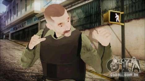 GTA 5 Ammu-Nation Seller 2 para GTA San Andreas