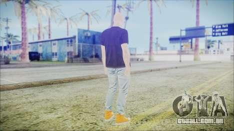 GTA Online Skin 55 para GTA San Andreas terceira tela
