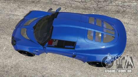 GTA 5 Lotus Exige 240 2008 voltar vista