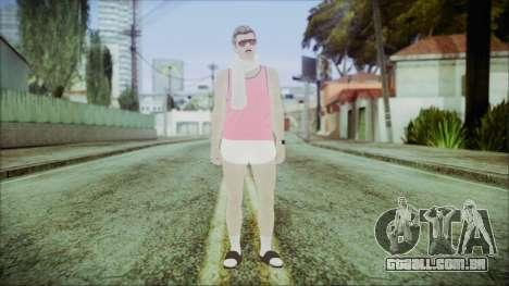 GTA Online Skin 36 para GTA San Andreas segunda tela