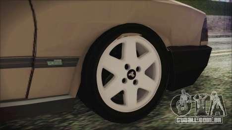Tofas Kartal SLX 1998 Modified para GTA San Andreas traseira esquerda vista