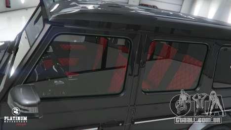 GTA 5 Mercedes-Benz G63 AMG v1 vista lateral direita