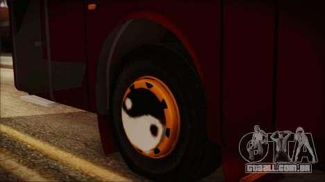 JetBus Marissa Holiday para GTA San Andreas traseira esquerda vista