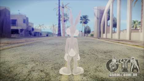 Bugs Bunny para GTA San Andreas terceira tela