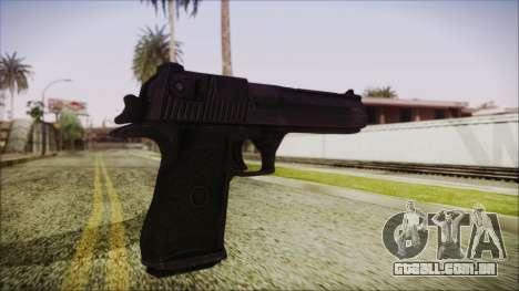 PayDay 2 Deagle para GTA San Andreas terceira tela