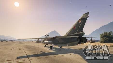 GTA 5 SU-24M terceiro screenshot