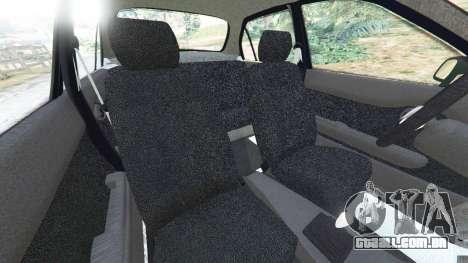 GTA 5 Toyota Corolla 1.6 XEI [black edition] v1.02 vista lateral direita