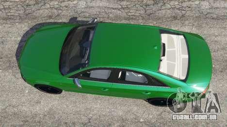 Audi S8 Quattro 2013 para GTA 5