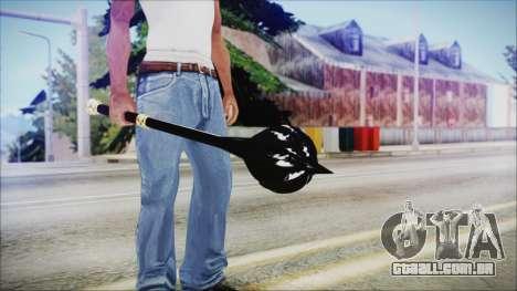 Bulat Steel Mace para GTA San Andreas terceira tela