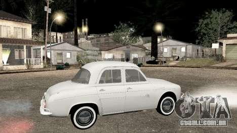 Willys-Overland Gordini III 1966 - Beta para GTA San Andreas esquerda vista