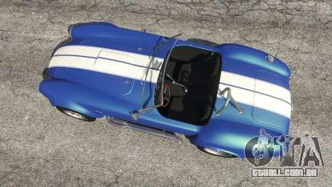 GTA 5 AC Cobra v1.3 voltar vista