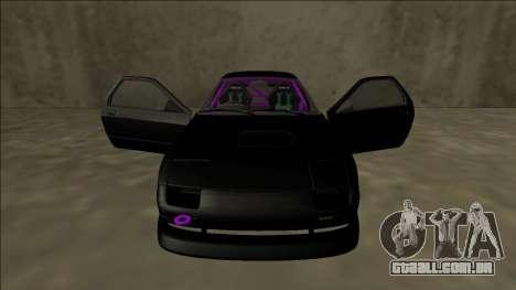 Mazda RX-7 FC Drift para GTA San Andreas interior