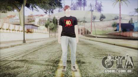 GTA Online Skin 43 para GTA San Andreas segunda tela