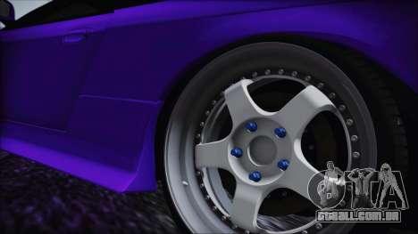 Nissan Silvia S14 Zenki BN Sports para GTA San Andreas traseira esquerda vista
