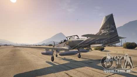 GTA 5 Embraer A-29B Super Tucano House quarto screenshot