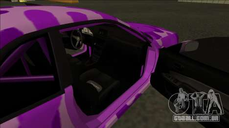 Nissan Skyline R34 Drift para vista lateral GTA San Andreas