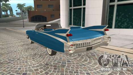 Cadillac Eldorado Biarritz 1959 para GTA San Andreas esquerda vista
