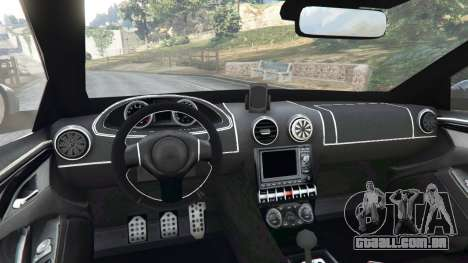 GTA 5 Skoda Octavia VRS 2014 [hatchback] traseira direita vista lateral