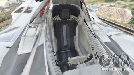 GTA 5 Batmobile Mk2 v0.9 vista lateral direita