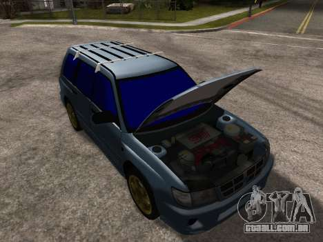 Subaru Forester 1998 para o motor de GTA San Andreas
