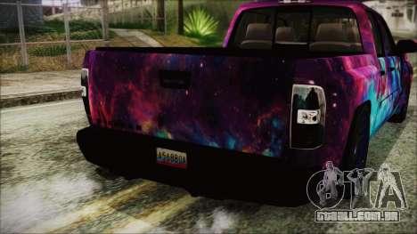 GMC Sierra Galaxy para GTA San Andreas vista traseira