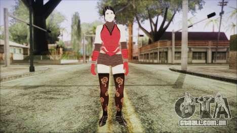Tekken Tag Tournament 2 Zafina Dress v2 para GTA San Andreas segunda tela