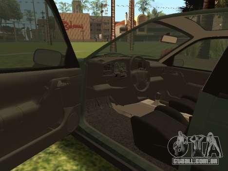 Volkswagen Passat B3 para GTA San Andreas vista superior
