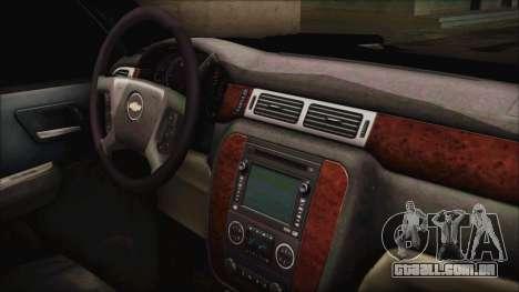 Chevrolet Silverado Triple Door para GTA San Andreas vista direita