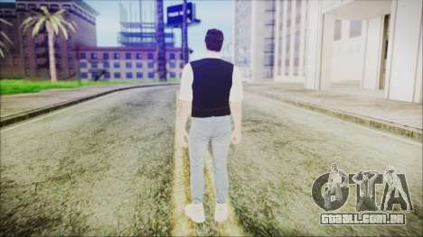 Skin GTA Online Bussines 3 para GTA San Andreas terceira tela