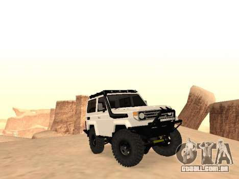 Toyota Machito Off-Road (IVF) 2009 para GTA San Andreas