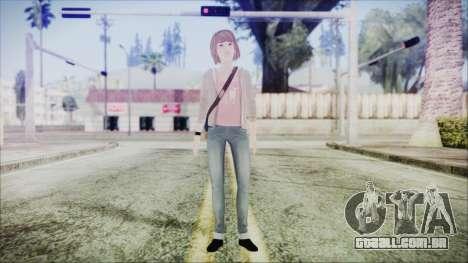 Life is Strange Episode 1 Max para GTA San Andreas segunda tela