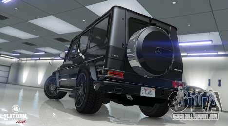 GTA 5 Mercedes-Benz G63 AMG v1 voltar vista