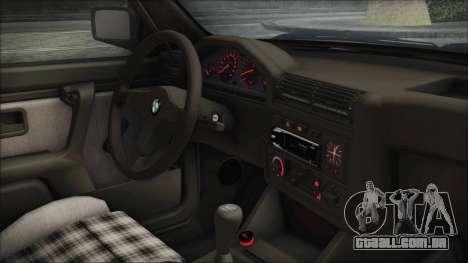 BMW 320i E21 1985 LT Plate para GTA San Andreas vista direita