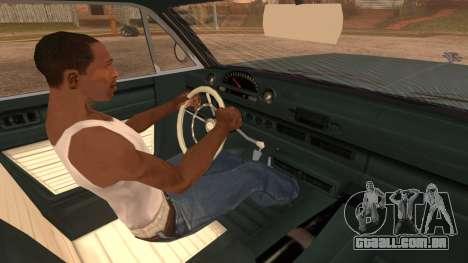 GTA 5 Declasse Clean Voodoo IVF para GTA San Andreas traseira esquerda vista