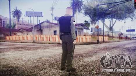 GTA 5 Ammu-Nation Seller 2 para GTA San Andreas terceira tela