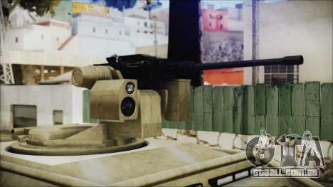 GTA 5 HVY Insurgent Pick-Up para GTA San Andreas vista direita