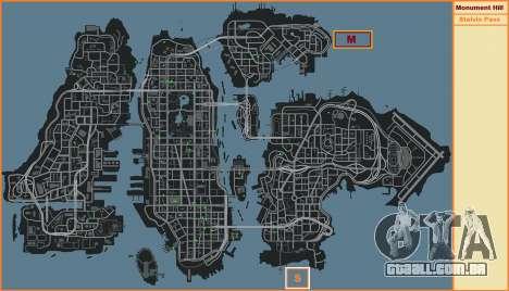Stelvio Pass Faixa para GTA 4 terceira tela