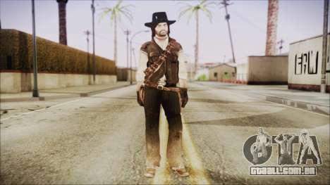 John Marston from Red Dead Redemtion para GTA San Andreas segunda tela