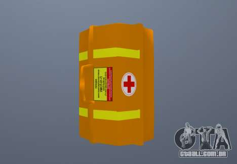 Kit De Primeiros Socorros para GTA San Andreas segunda tela