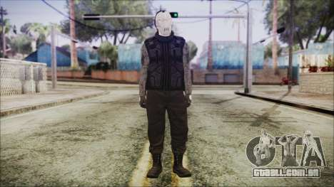GTA Online Skin 3 para GTA San Andreas segunda tela