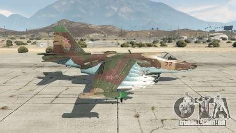 O Su-25 v1.1 para GTA 5