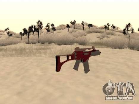 Natal G36c camo para GTA San Andreas segunda tela